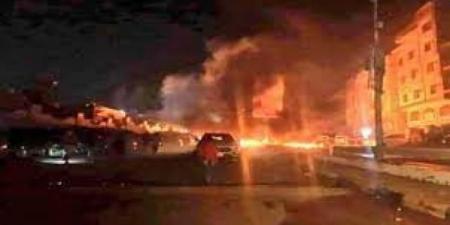 انفجار عنيف يهز مدينة المنصورة بعدن