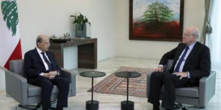 """على خلفية تصريحات """"قرداحي"""".. رئيس الحكومة اللبنانية يجري أول تحركاته بعد لقائه الرئيس عون"""