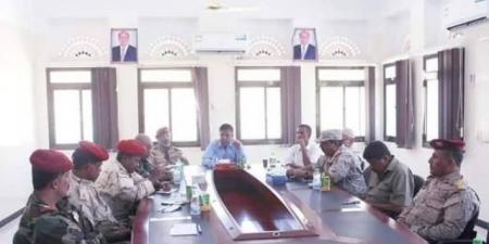 بعد عقدها اجتماع استثنائي..اللجنة الأمنية تعلن رفع الجاهزية القتالية في ساحل حضرموت