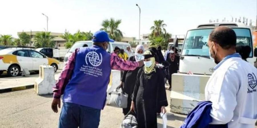 نقل 121 مهاجرا غير شرعي من مطار عدن الدولي الى اديس ابابا