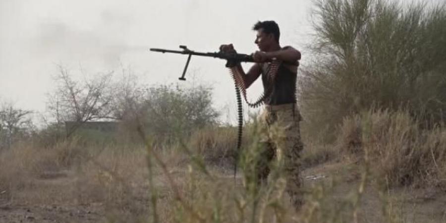 """بالفيديو : شاهد قوات """"طارق صالح"""" تلقن الحوثيين دروسا قاسية عقب استهداف ميناء المخا"""