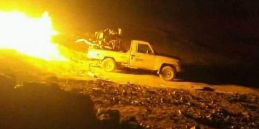 ميليشيا الحوثي تلتف على مواقع الجيش الوطني في حريب بمأرب والنتائج كارثية