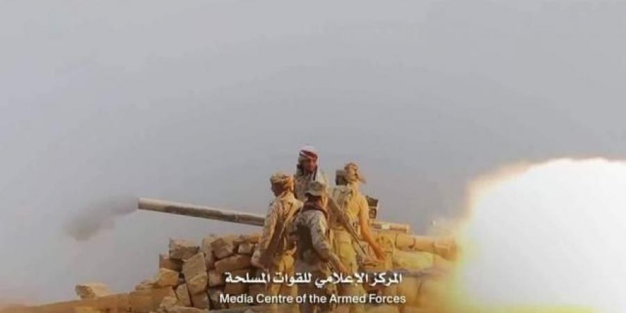 """نيران الجيش اليمني ومقاتلات التحالف تفتك بـ""""الحوثيين"""" جنوبي مارب"""