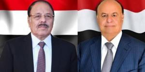 """بعد انتهاء أعمارهم الافتراضية.. """"هادي"""" و""""الاحمر"""" أمام خيارين إثر تقدم الحوثيين في مارب وشبوة"""