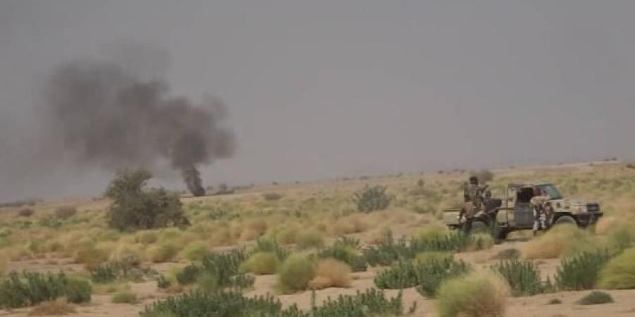 بالفيديو : شاهد معركة عسكرية خاطفة للجيش الوطني نحو معسكر اللبنات بالجوف