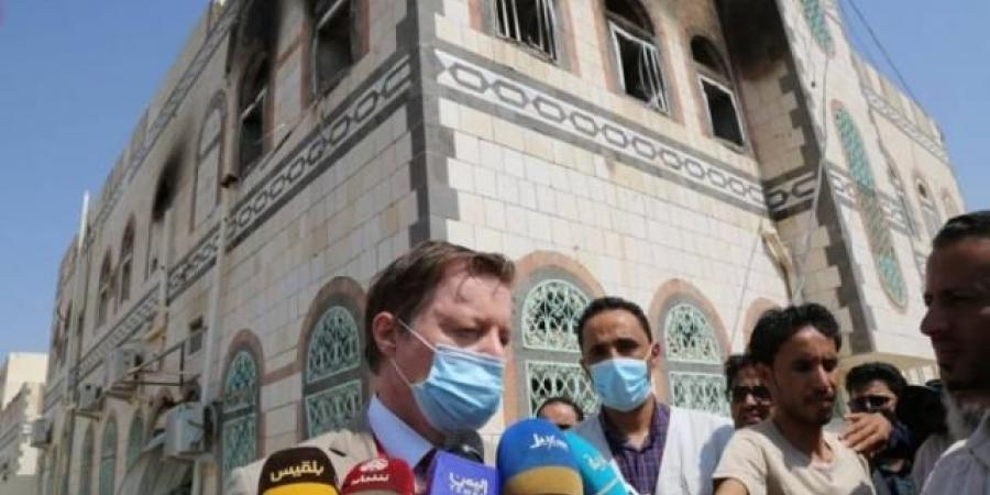 مسؤول أممي يصل إلى منزل العرادة بعد استهدافه من قبل الحوثيين!!