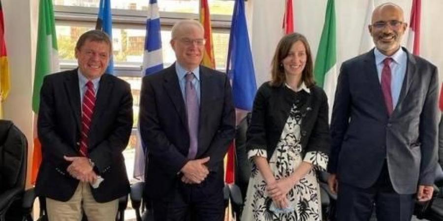 إجتماع رباعي أمريكي-أوروبي لدفع عملية السلام في اليمن
