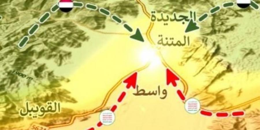 مليشيا الحوثي تستغيث من أجل السماح لها بالانسحاب من مديرية الجوبة