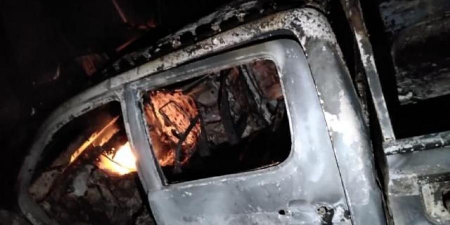 شاهد أول صورة من مركز مديرية الجوبة بعد استهدافها من قبل الحوثيين