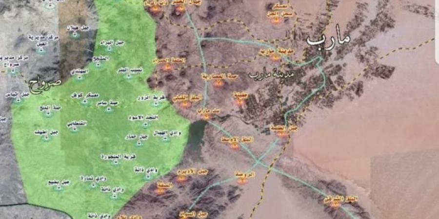 بعد عدة أسابيع من الحصار.. حقيقة سقوط مديرية العبدية بيد مليشيا الحوثي